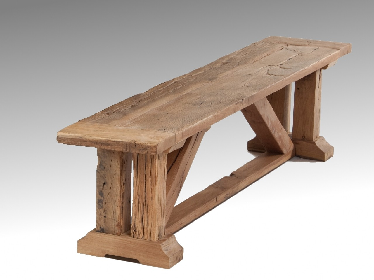 massivholz sitzb nke aus eiche altholzdesign. Black Bedroom Furniture Sets. Home Design Ideas