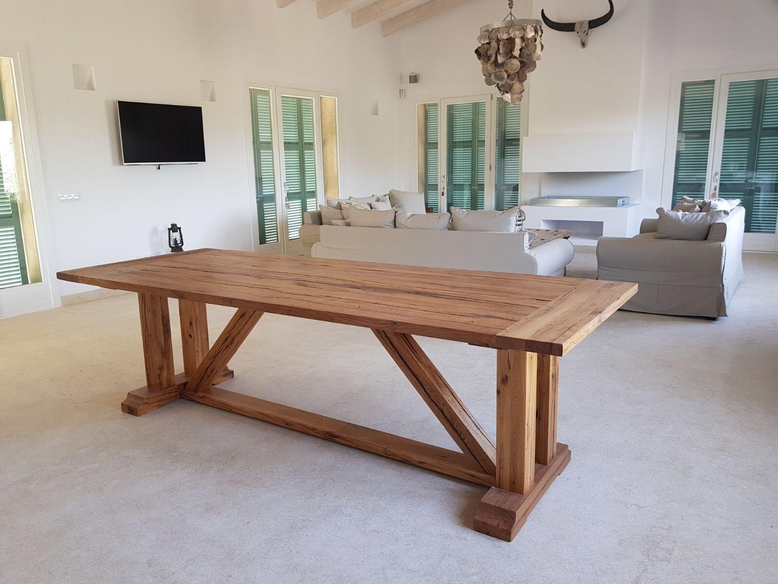 Design Esstisch Altholz Eiche nach Maß