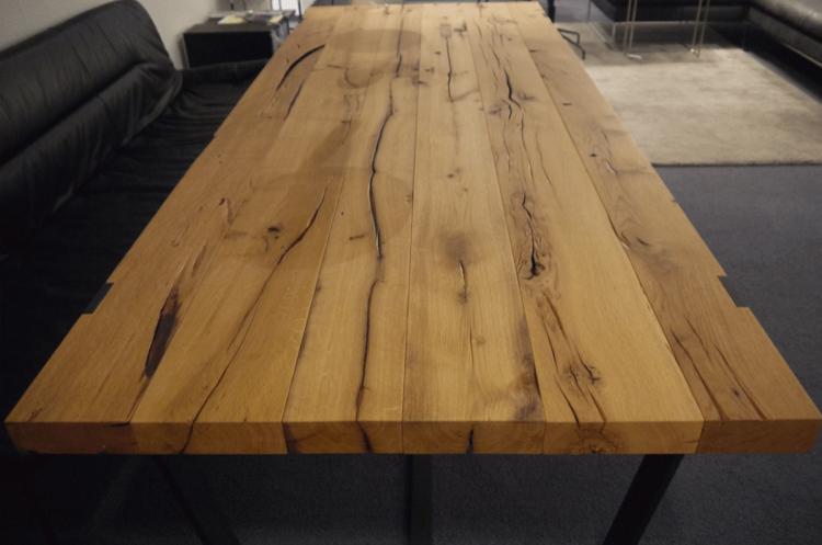 Tischplatte aus altem Eichenholz nach Maß