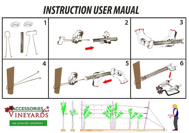 Instruction user manual
