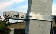 Collare piatto pali cemento