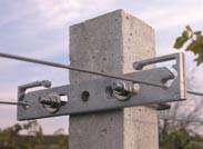 Mensola in lega di alluminio pressofusa