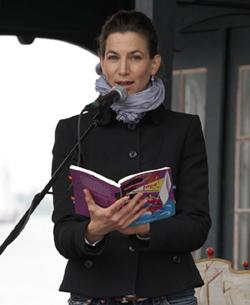 Simone Dorenburg, Lesung mit Musik, Hamburger Hafengeburtstag