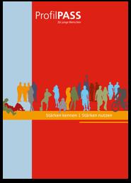 Bild zeigt Workbook ProfilPASS für junge Menschen
