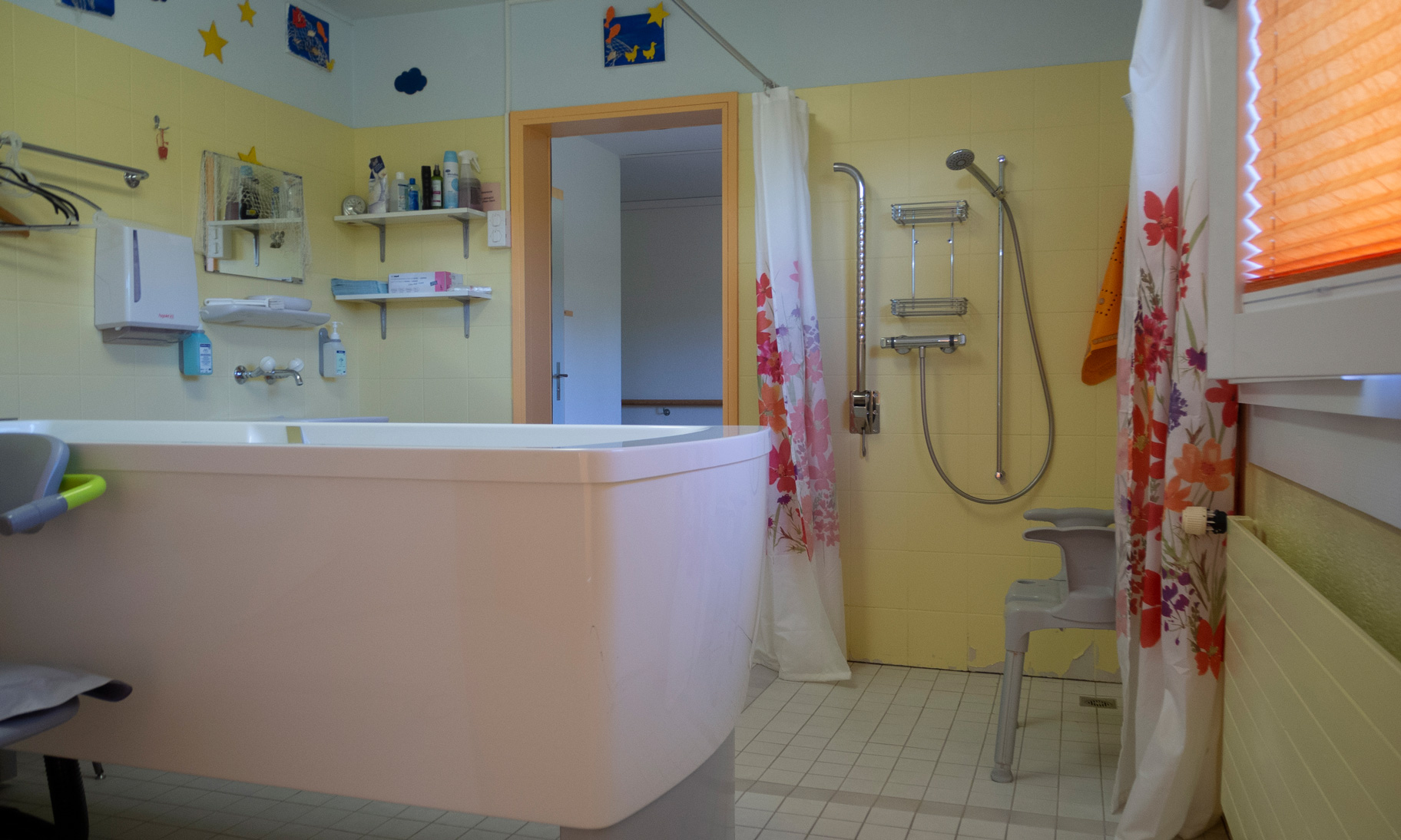 Foto des Bades vor dem Eingriff