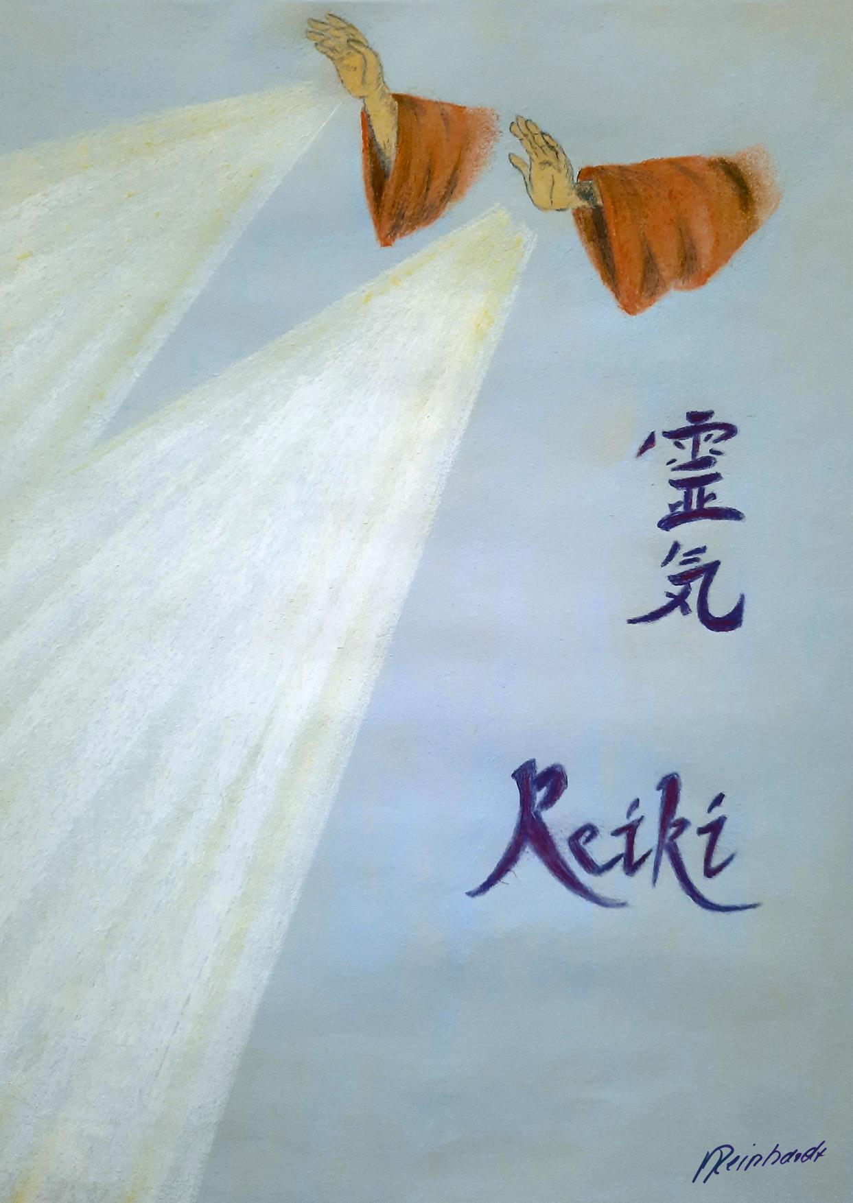 """""""neu"""" Rei-ki-hände"""