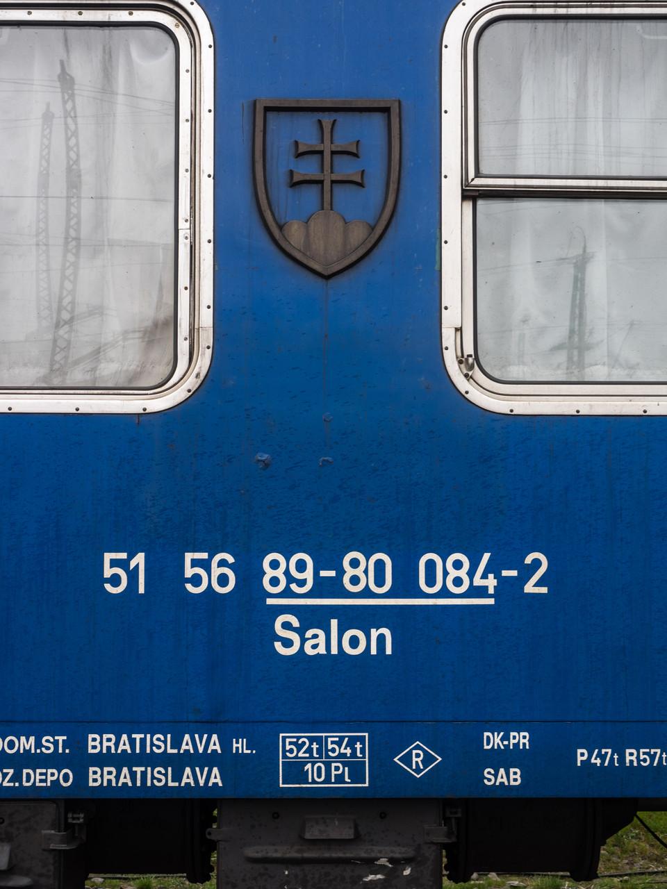 Slowakischer Salonwagen