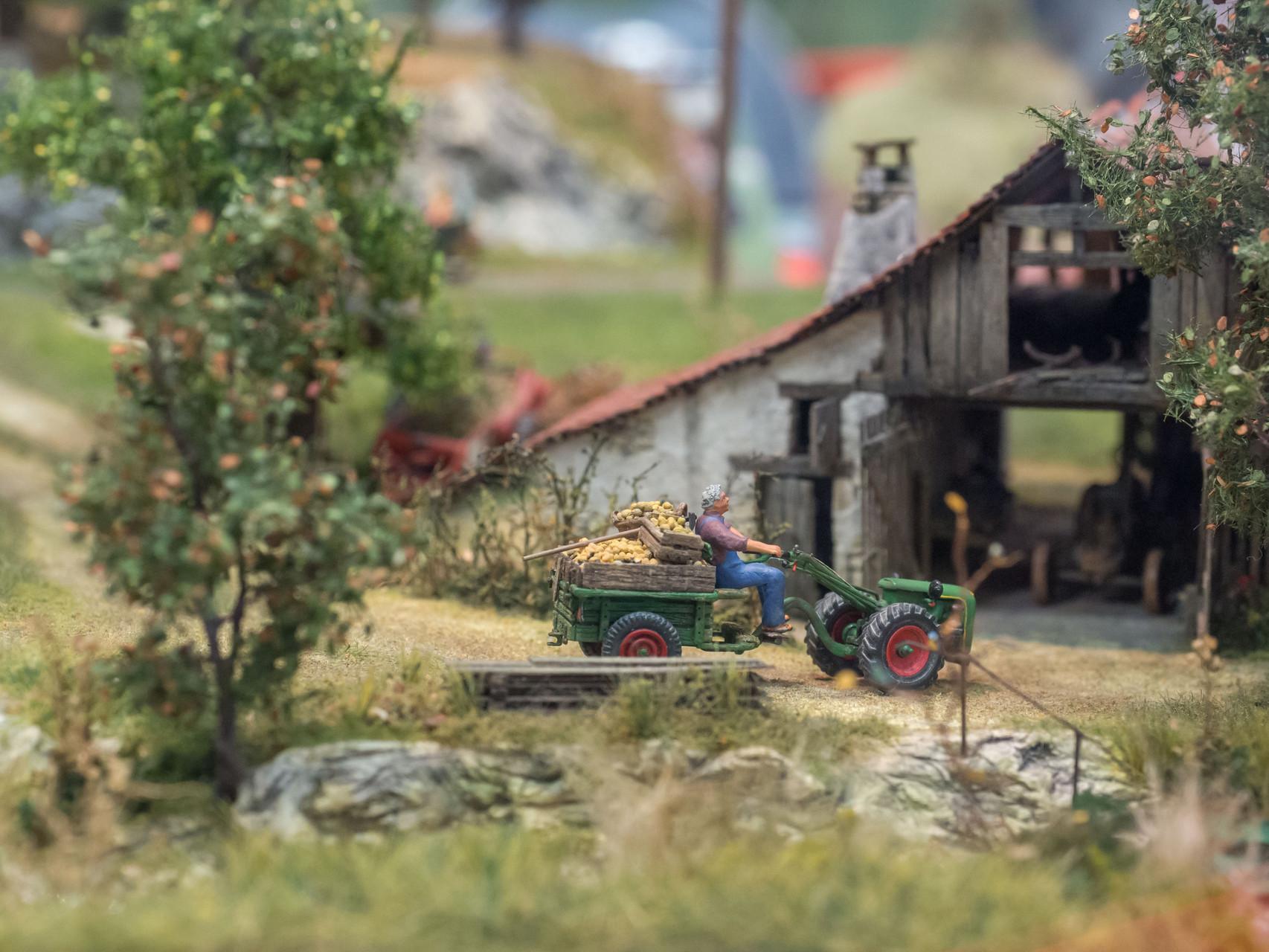 Bauernhof-H. Jeutter H0