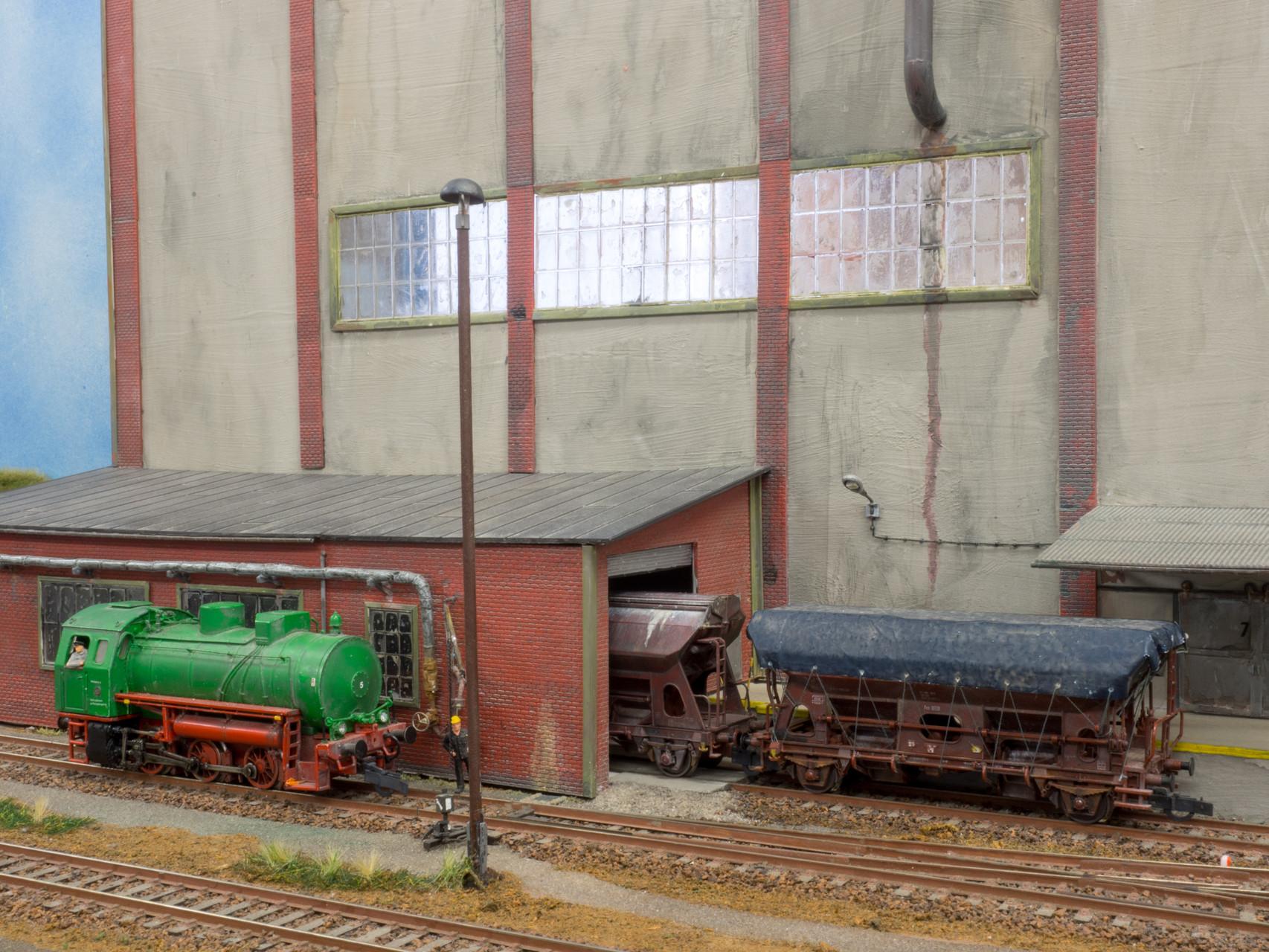 H0-Industrieanlage Hr. Brabandt Halle