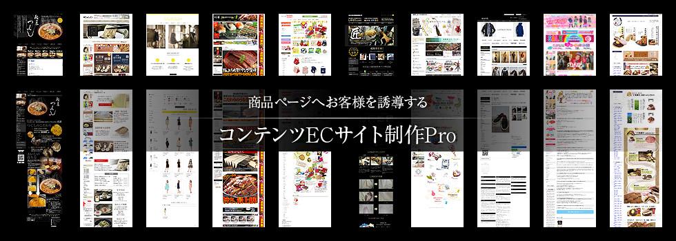 コンテンツECサイト制作Pro