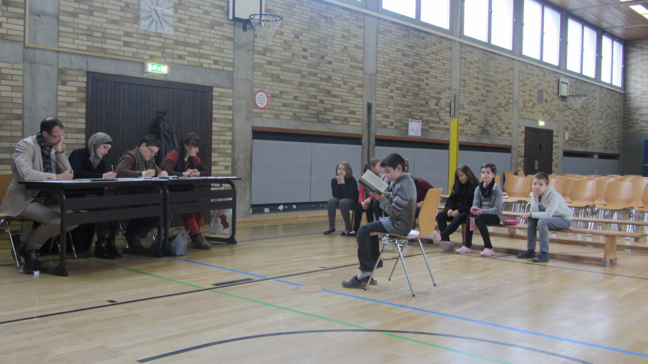 Die 1. Runde fand nur vor der Jury statt.