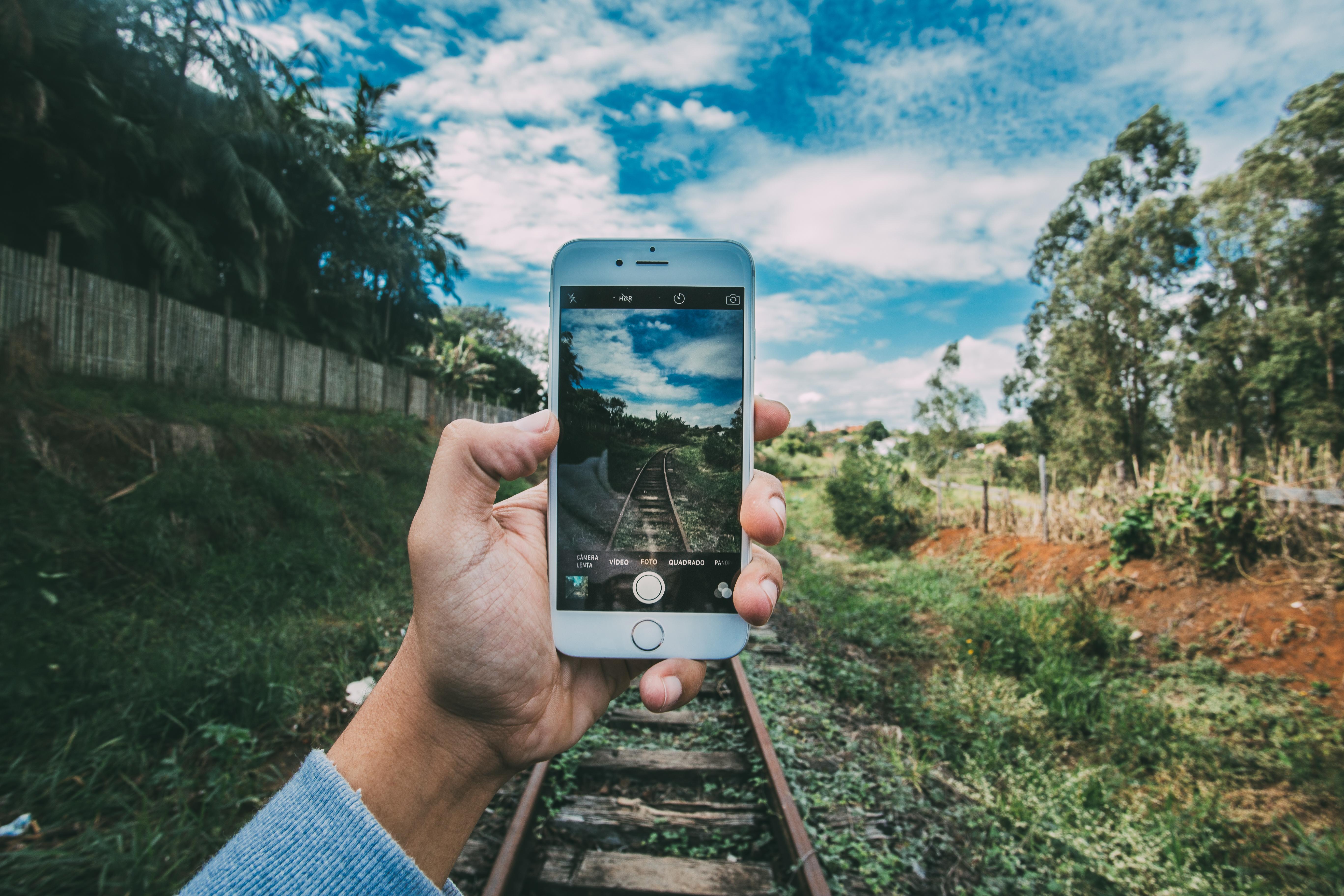 Leichte Smartphone Benutzung