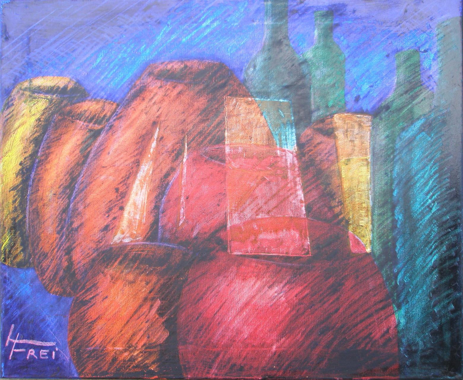 """ART HFrei - """"Stillleben"""" - Acyl-Mischtechnik - 2008"""