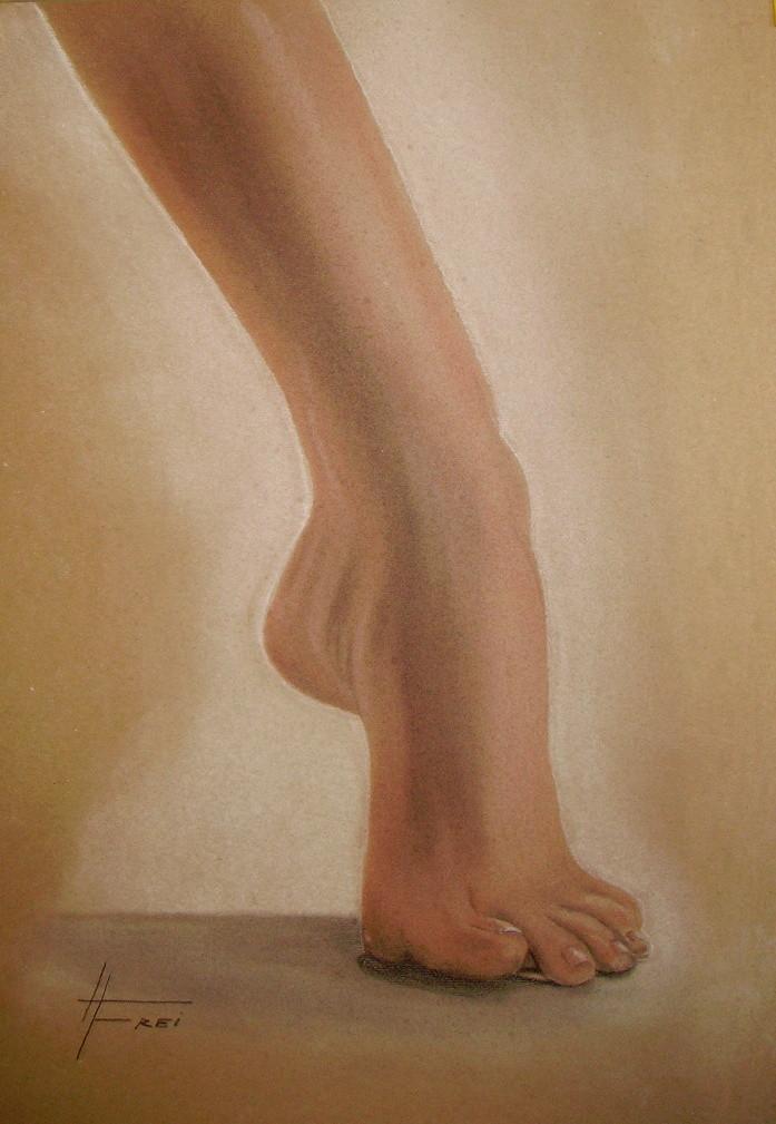 """ART HFrei - """"Sie"""" - Pastell - 2006"""