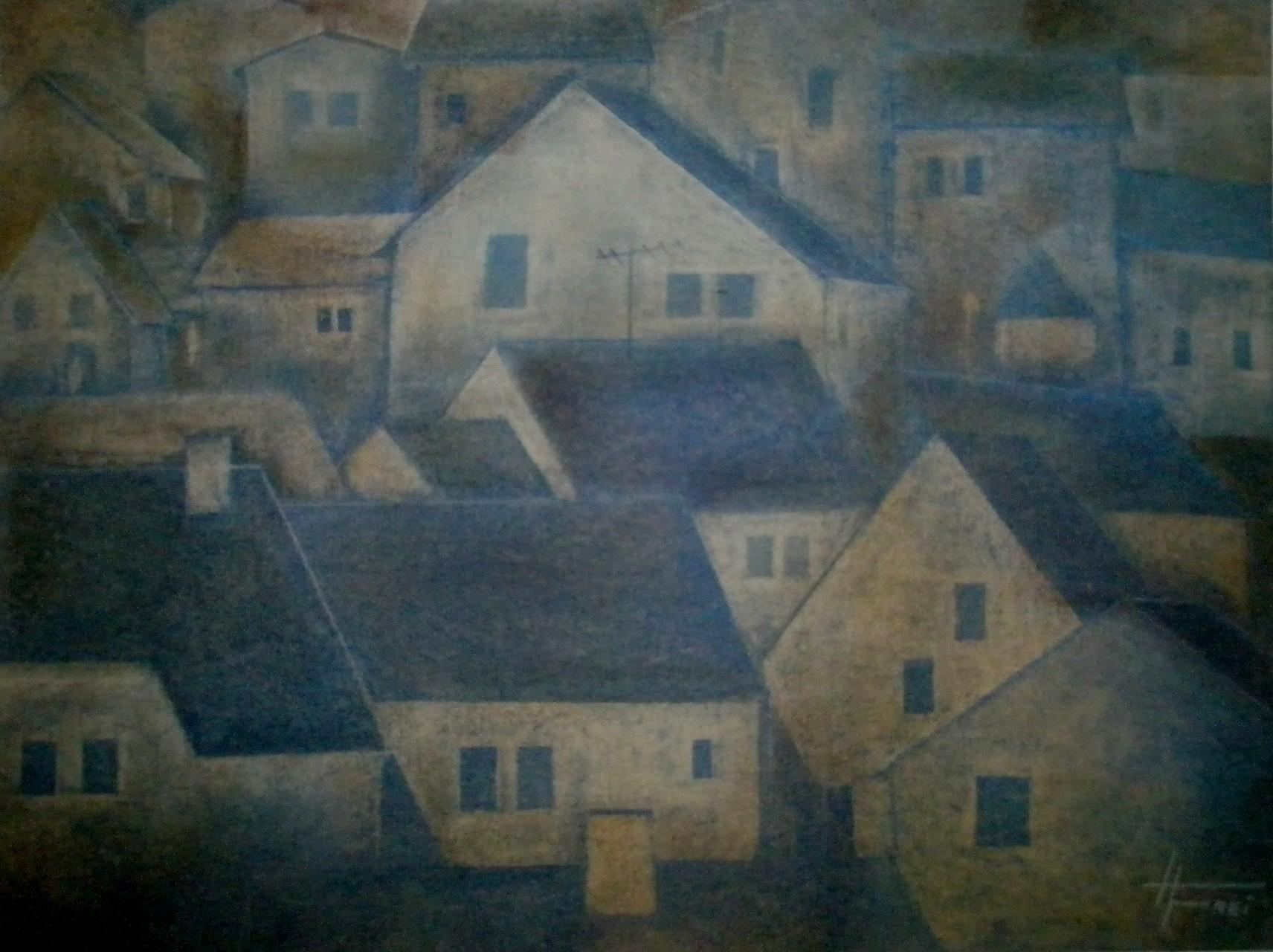 "ART HFrei - ""Vollmond"" - Pastell - 2008"