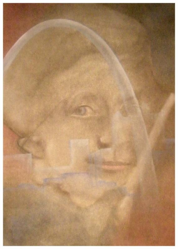 """ART HFrei - """"Noch immer"""" - Pastellkreide - 2009"""