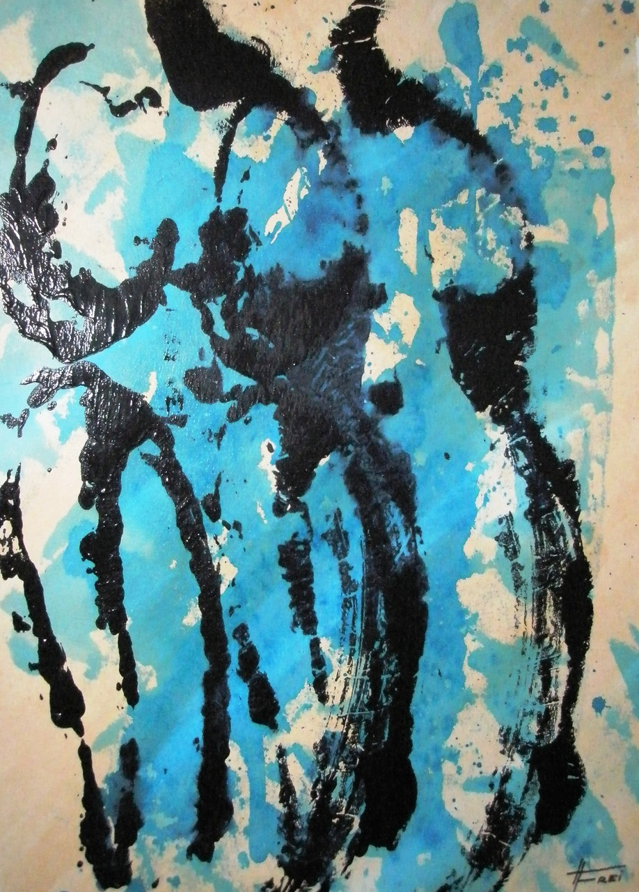 "ART HFrei - ""Duo"" - Acryl - 2009"