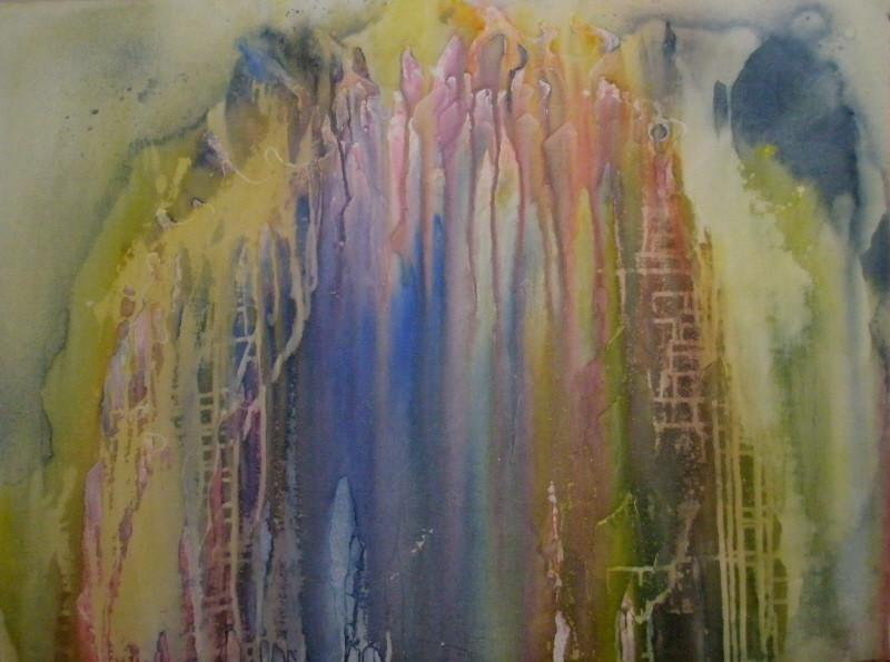 """Visionen"" - Acryl - 2008"