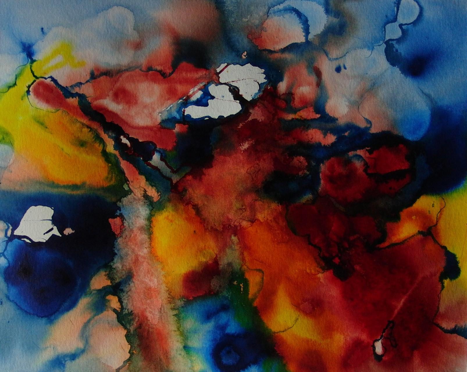 """ART HFrei - """"O.T."""" - Aquarell - 2011"""