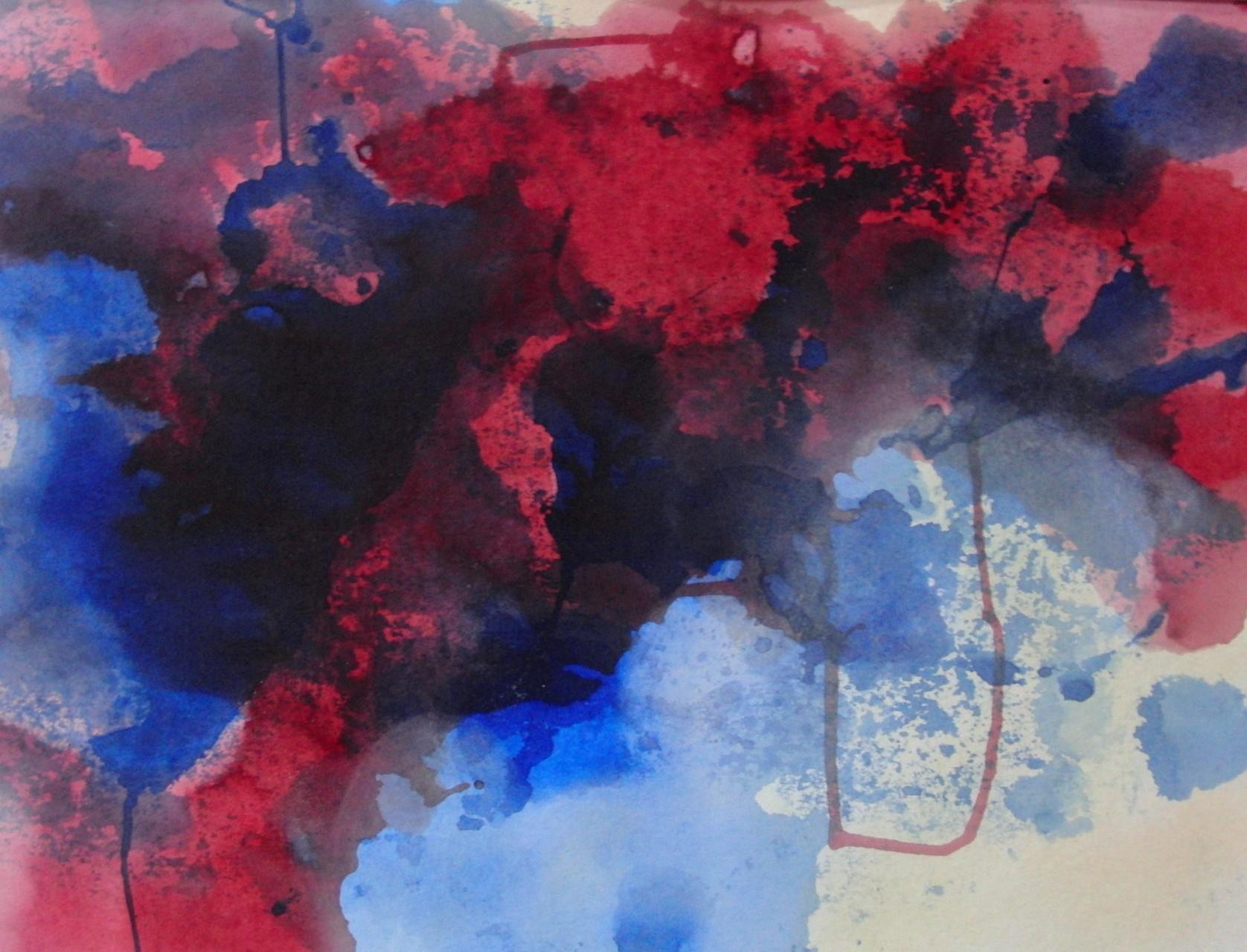 "ART HFrei - ""Tiefgang 3"" - Aquarell - 2011"