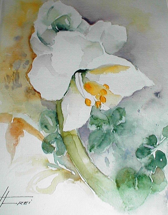 "ART HFrei - ""Calla"" - Aquarell - 2005"