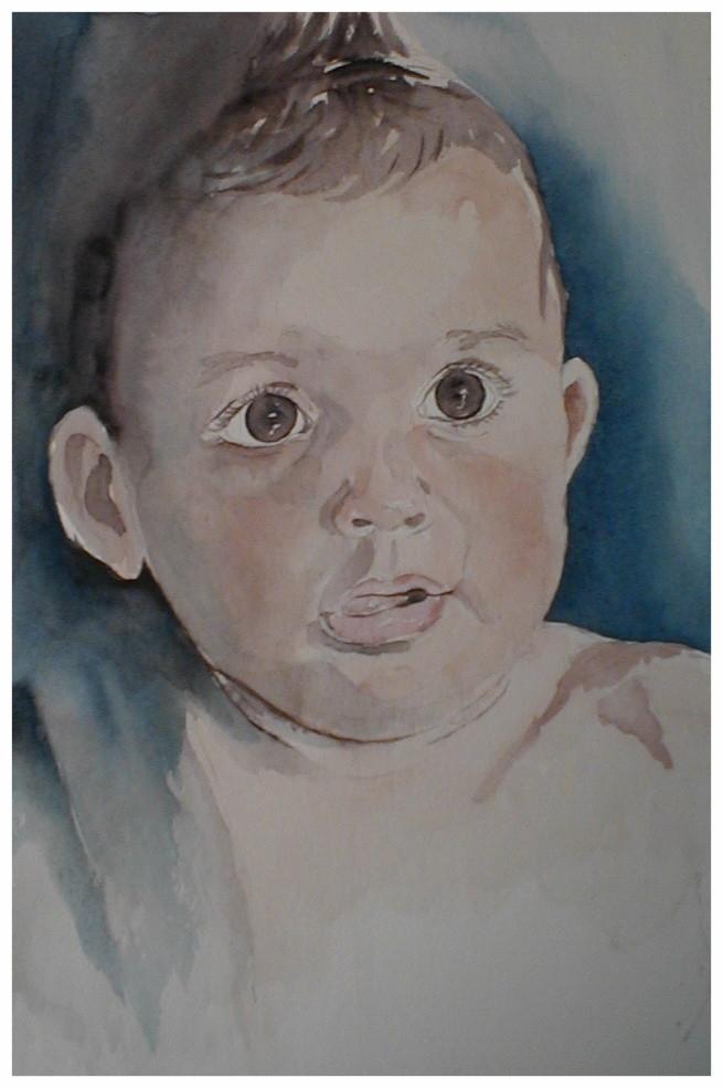 "ART HFrei - ""Marcel"" - Aquarell - 2003"