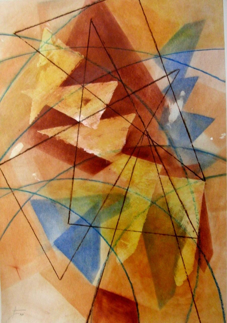 "ART HFrei - ""Oh Tannenbaum ..."" - Pastell - 2010"