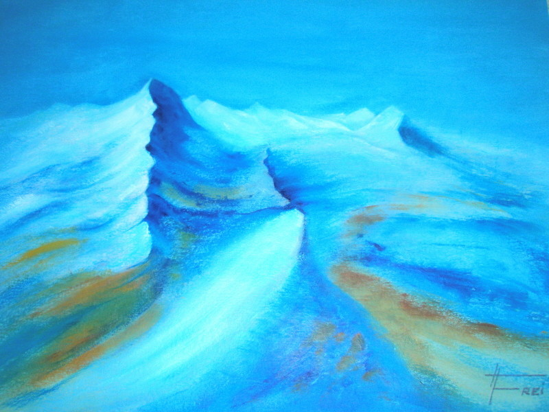 """ART HFrei - """"Matterhorn"""" - Öl - 2008"""