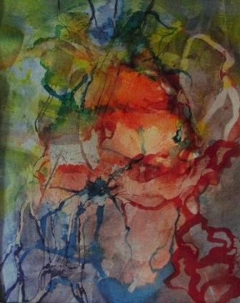 "ART HFrei - ""Maskenball"" - Aquarell - 2011"