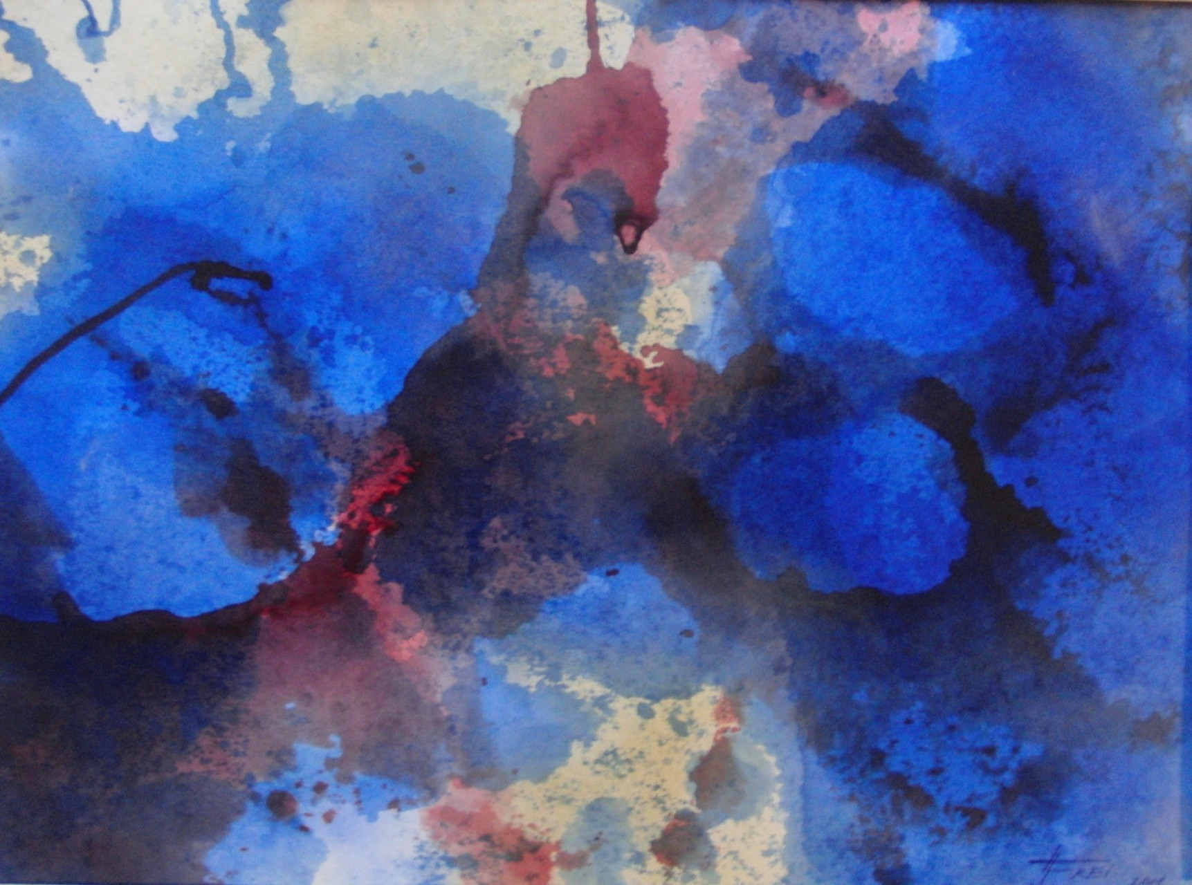 "ART HFrei - ""Tiefgang 2"" - Aquarell - 2011"