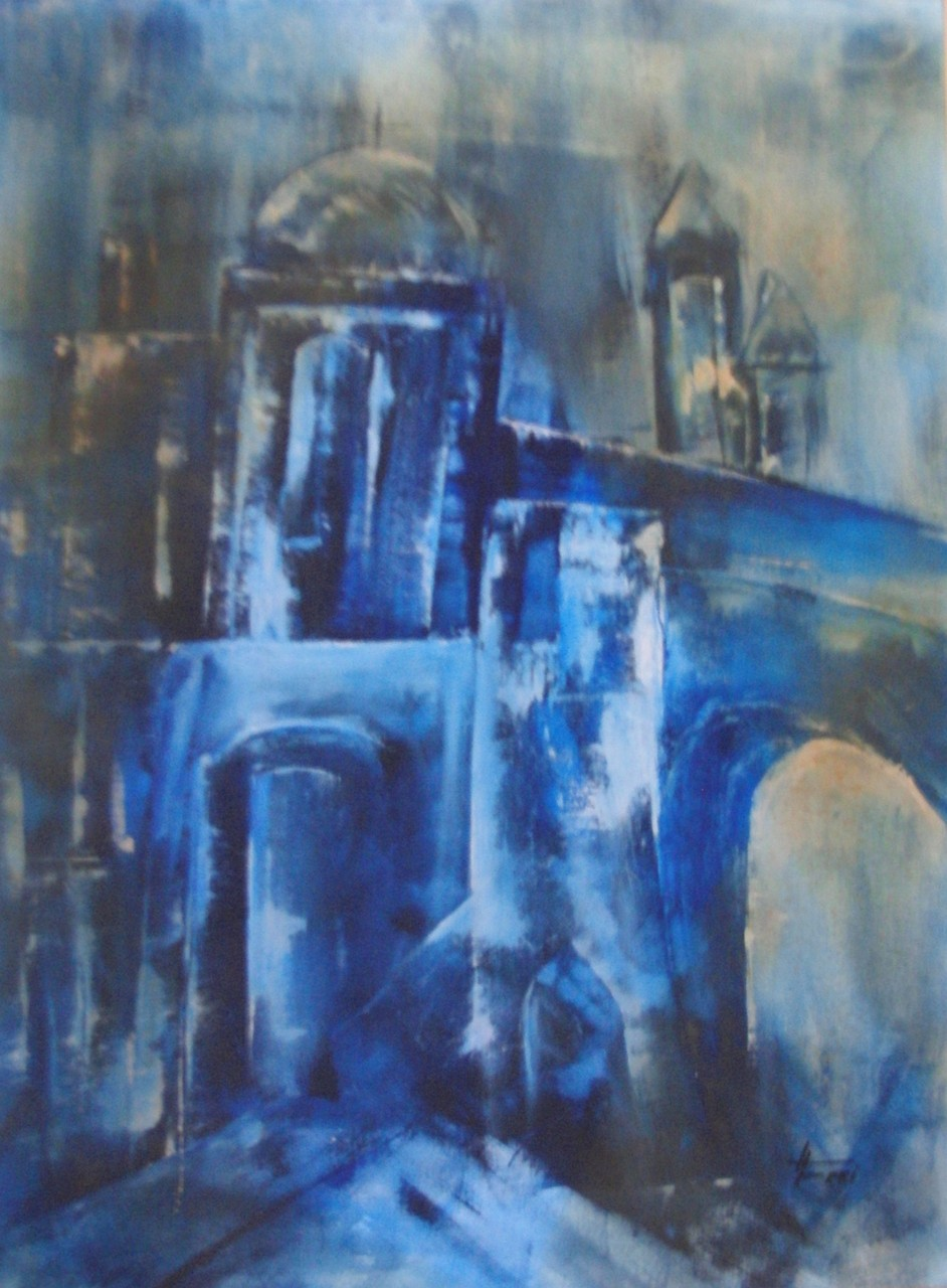 """""""Altstadt"""" - Öl - 2008"""