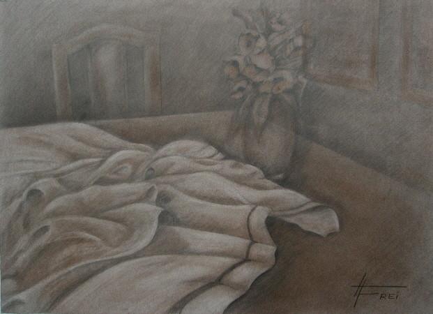 "ART HFrei - ""Verlassen"" - Bleistift - 2008"