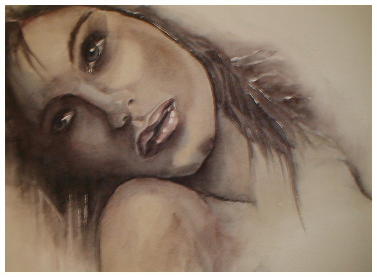 """ART HFrei - """"O.T."""" - Aquarell - 2006"""