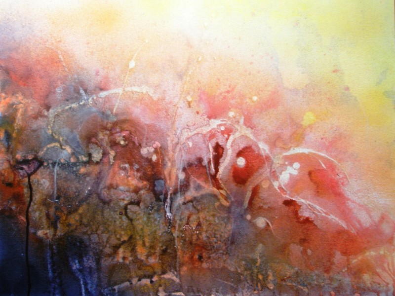 "ART HFrei - ""Animals"" - Aquarell - 2008"