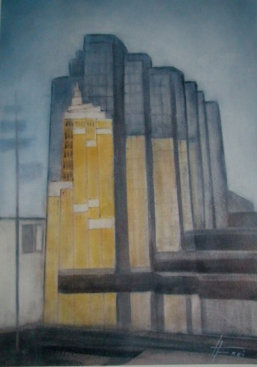 "ART HFrei - ""Vancouver"" - Pastell - 2008"