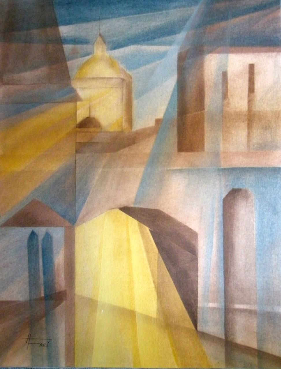 """ART HFrei - """"Lichtblick"""" - Pastell - 2008"""