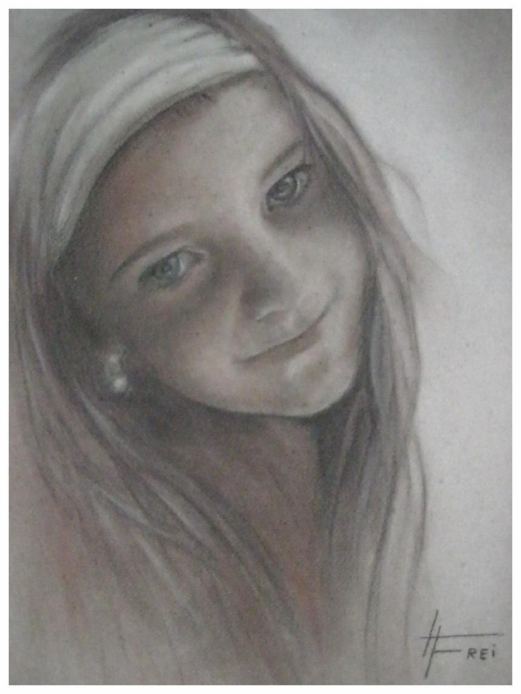 """ART HFrei - """"Selina"""" - Pastellkreide - 2007"""