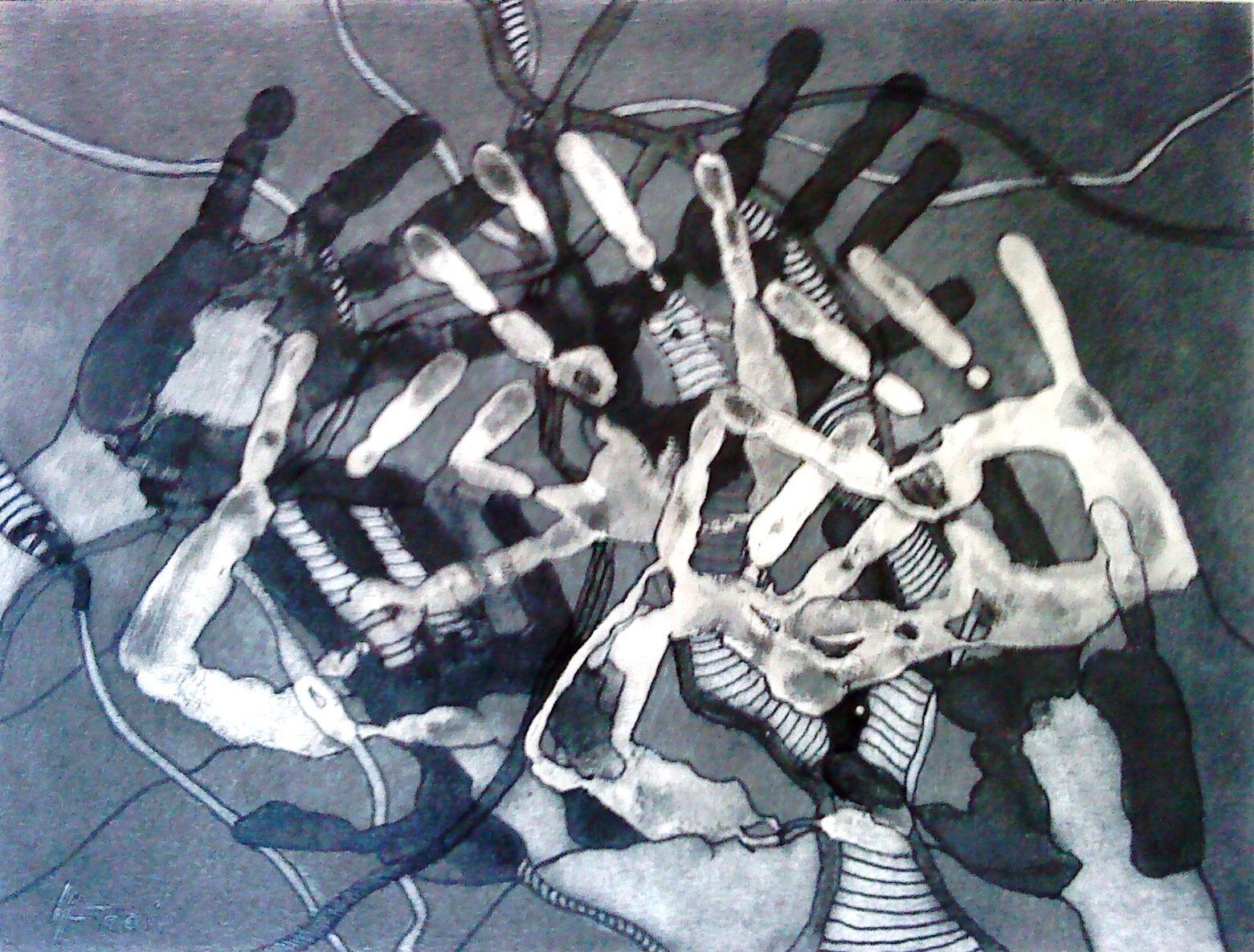 """ART HFrei - """"Handlungsbedarf"""" - Graphit - 2016"""