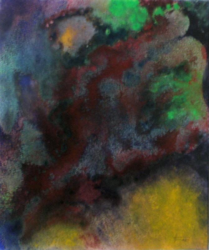 "ART HFrei - ""Face-Röntgen"" - Acryl-Mischtechnik - 2008"