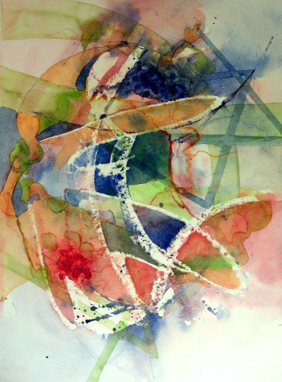 """ART HFrei - """"Sommergefühle"""" - Aquarell -2012"""
