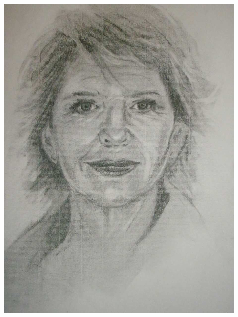 """Christiane Hörbiger"" - Bleistift - 2008"
