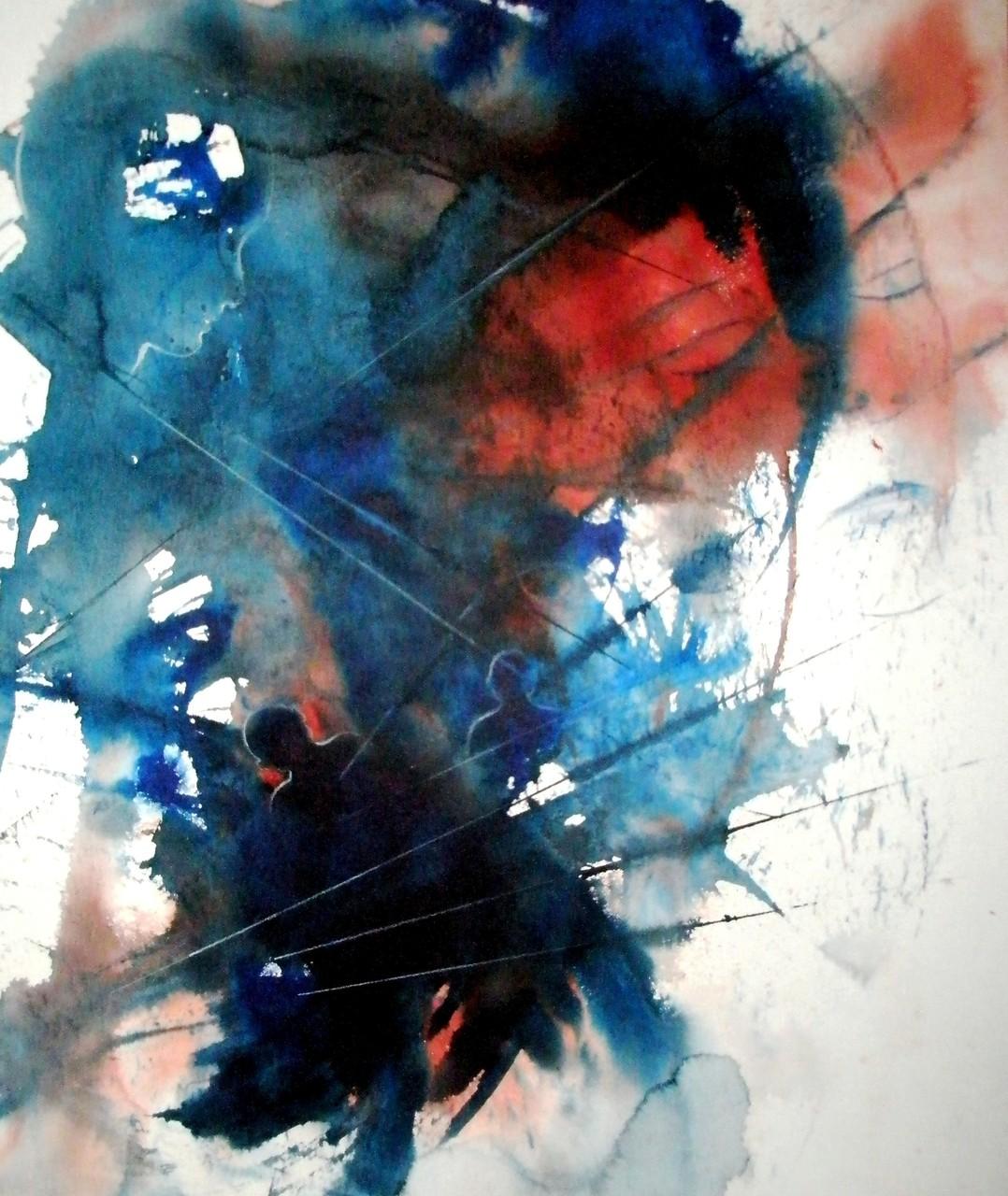 """ART HFrei - """"Im Sog der Erinnerung"""" - Aquarell - 2012"""
