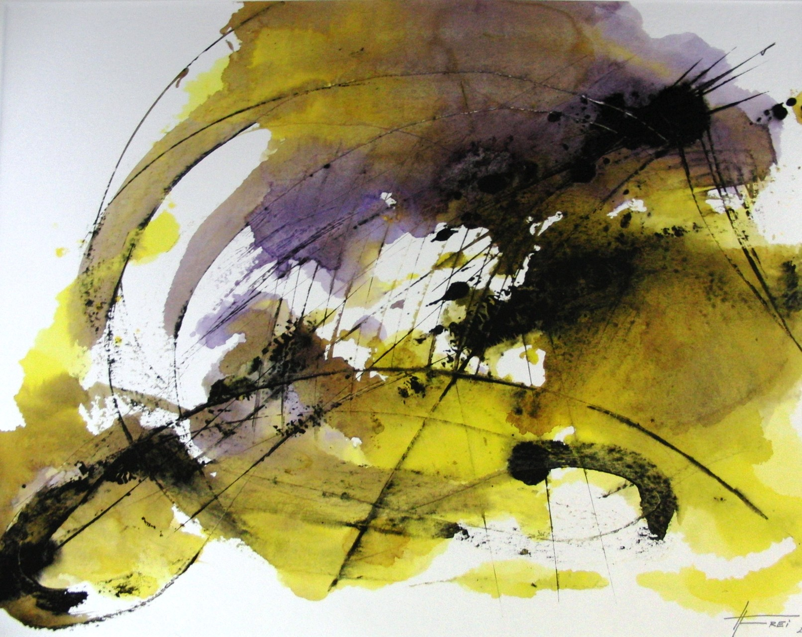 "ART HFrei - ""Kraft III"" - Aquarell - 2011"