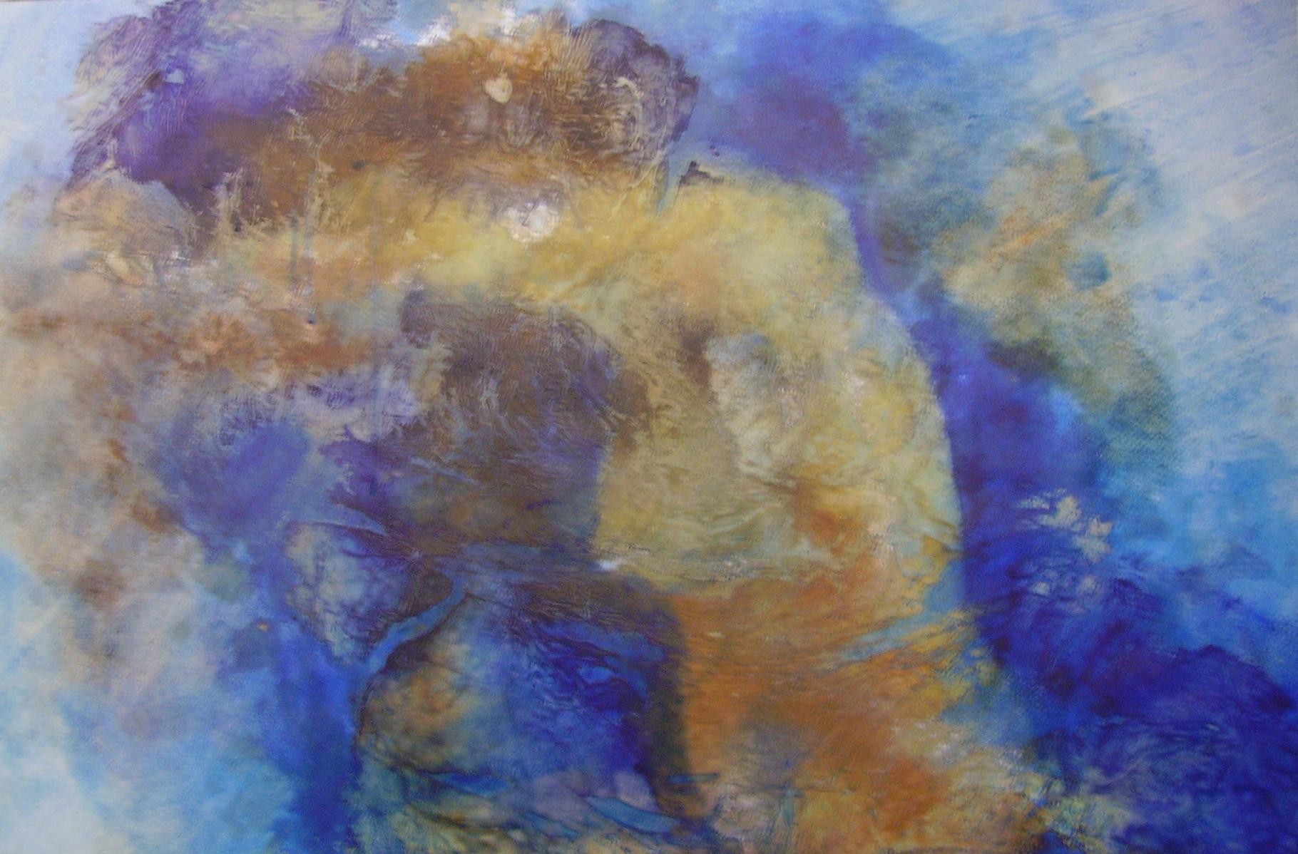"ART HFrei - ""Verzweifelt"" - Pastell-Mischtechnik - 2007"
