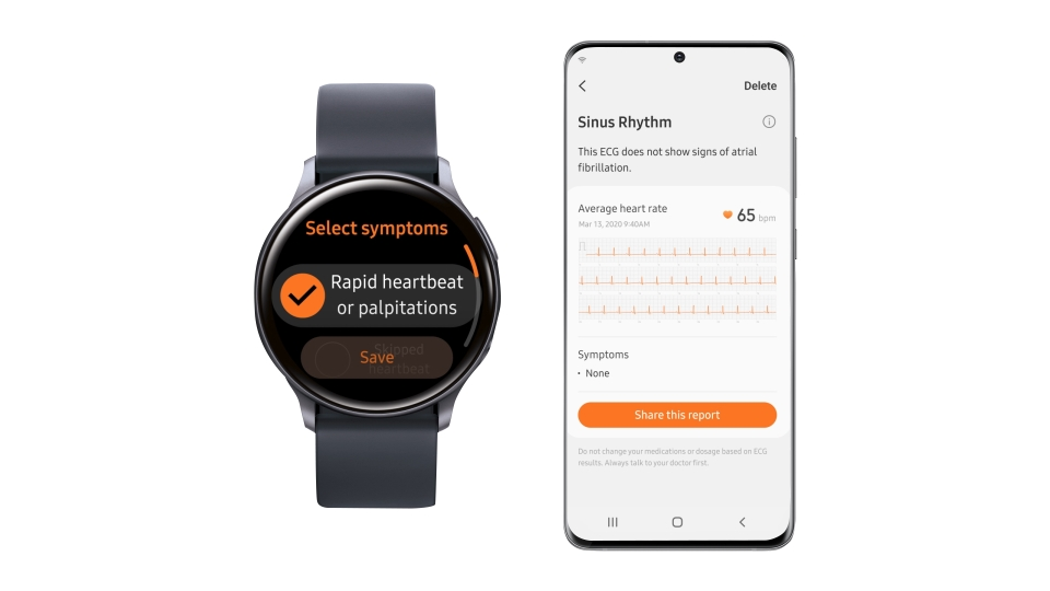 تعزز مزايا تخطيط القلب الكهربائي وقياس ضغط الدم قدرة المستخدمين على العناية بصحتهم على النحو الأمثل باستخدام أفضل تطبيق لقياس البيانات الصحية حتى الآن