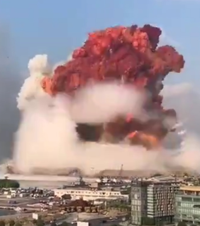 انفجار المرفأ في بيروت، لبنان