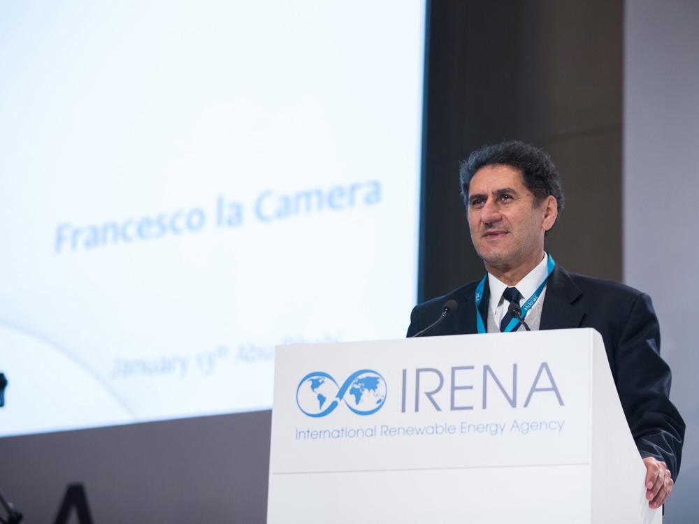 انتخاب السيد فرانشيسكو لا كاميرا ليشغل منصب مدير عام الوكالة لمدة 4 سنوات