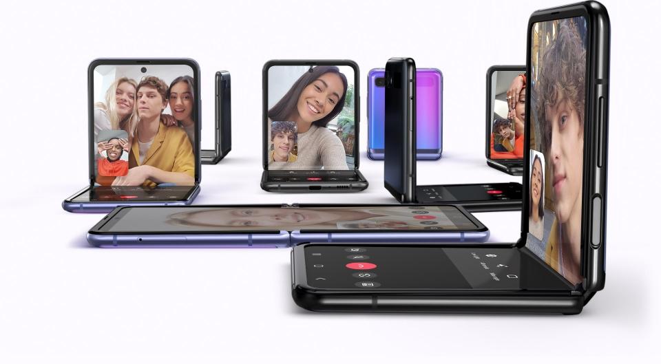 تجربة هاتف محمول جديدة كلياً من خلال تزويده بأول شاشة زجاجية قابلة للطي من سامسونج إلى جانب العديد من الميزات والخصائص الجديدة