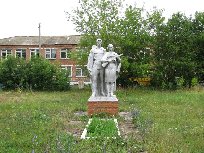 Памятник землякам, погибшим во время Великой Отечественной войны. Граховский район, д. Заречный