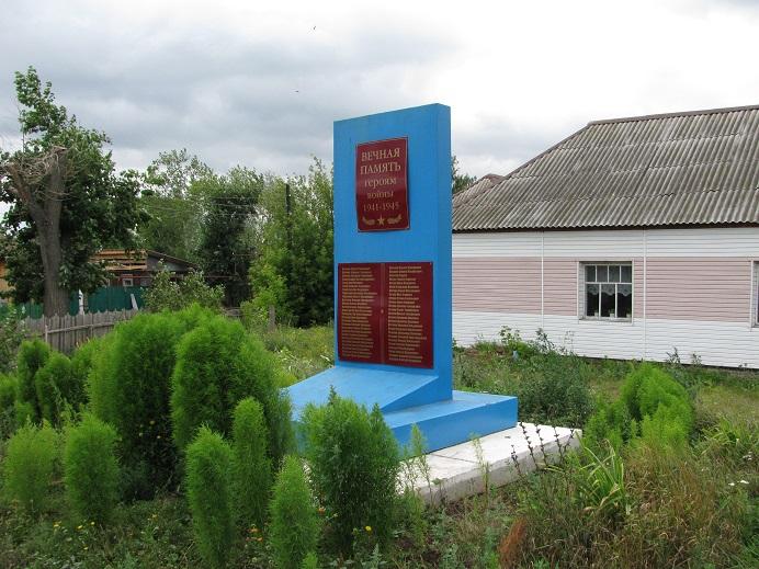 Обелиск землякам, погибшим в годы Великой Отечественной войны. Граховский район,  д. Байтуганово